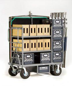 Studio Mini Duz-All Cart Model MDA-101 $1825.00