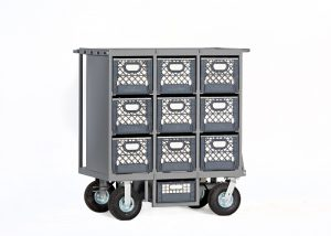 Studio Nine Crate Cart Model NCC-101 $1825.00