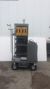 Mini Grip Junior Cart on location Studiocarts on stage, Setcarts Backstagecarts @studiocarts.com