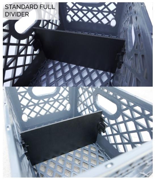 Milk Crate Full Divider